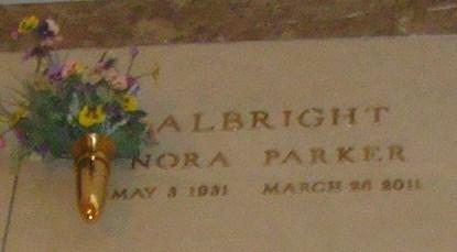 Nora <i>Parker</i> Albright
