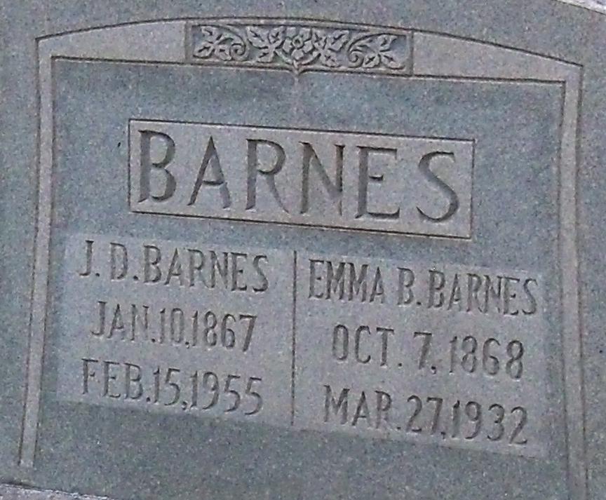 Emma Bell <i>Morris</i> Barnes