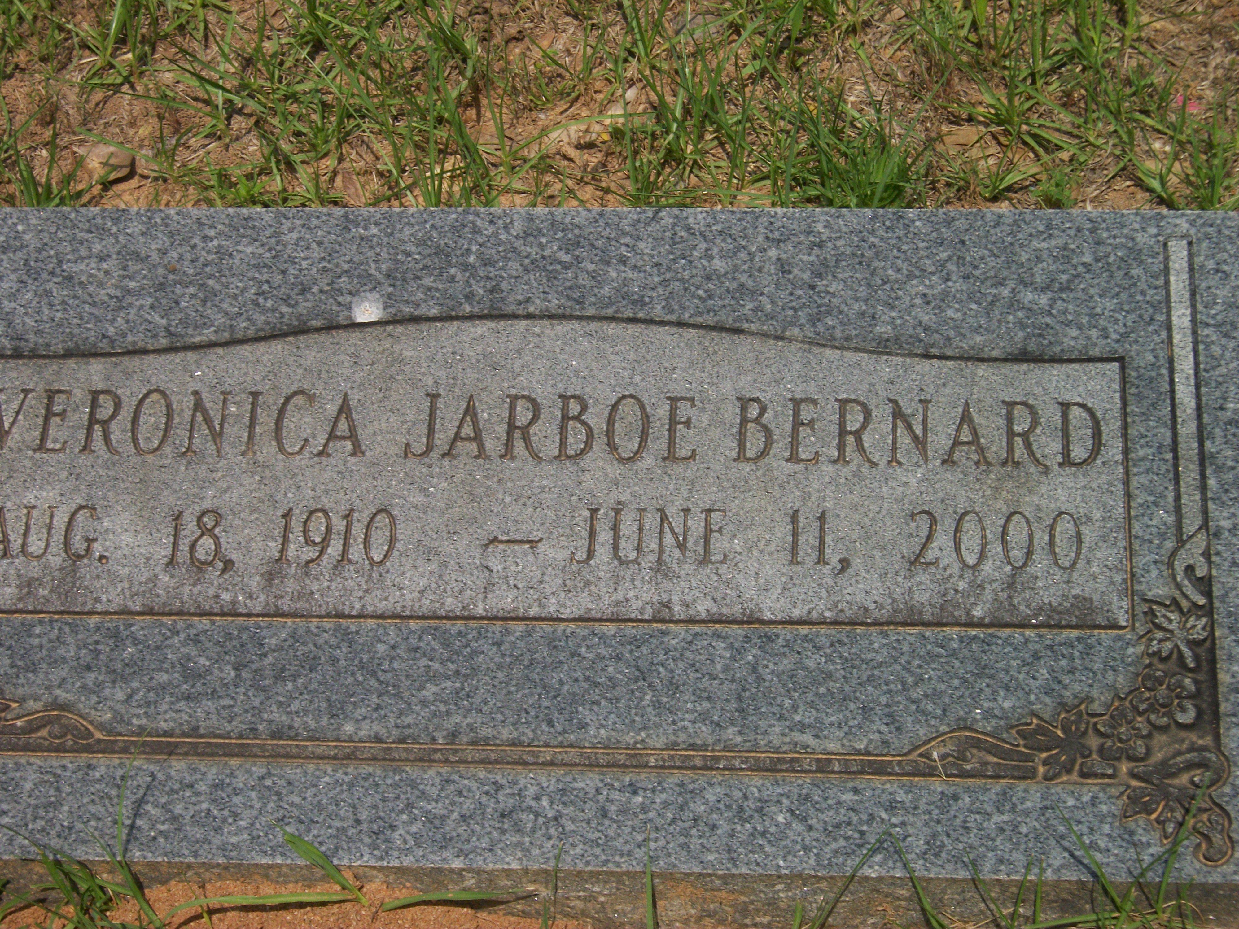 Veronica Marie <i>Jarboe</i> Bernard