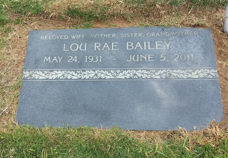 Lou Rae <i>Stevens</i> Bailey