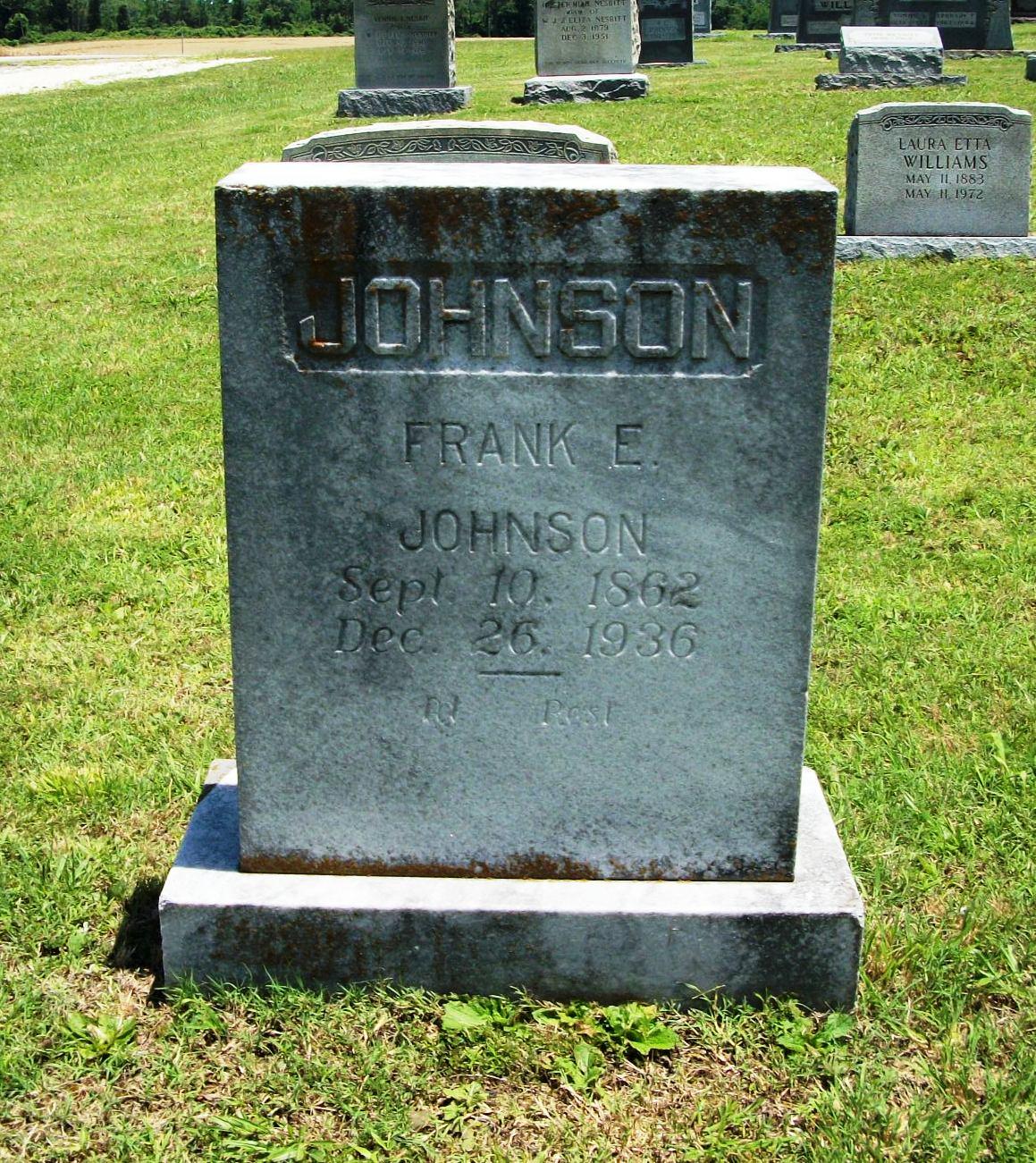 Frank Ebert Johnson