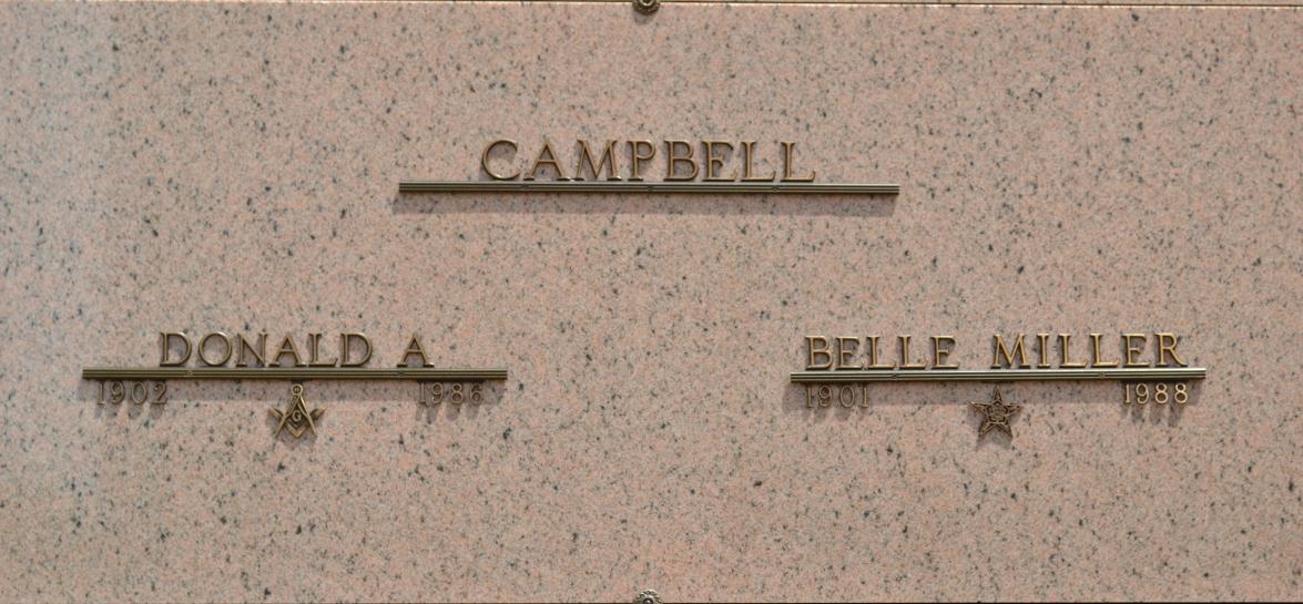 Belle <i>Miller</i> Campbell