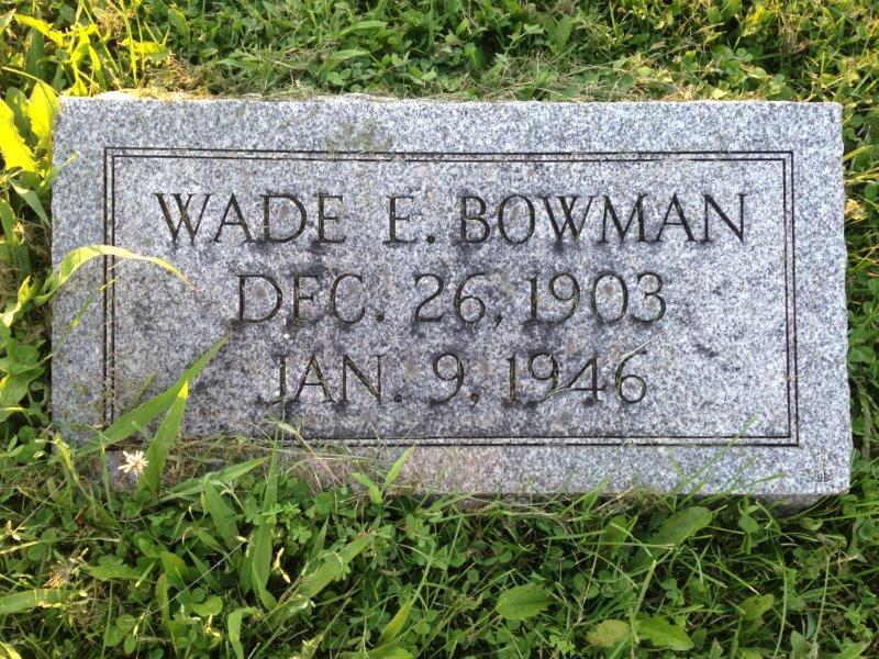 Wade Bowman