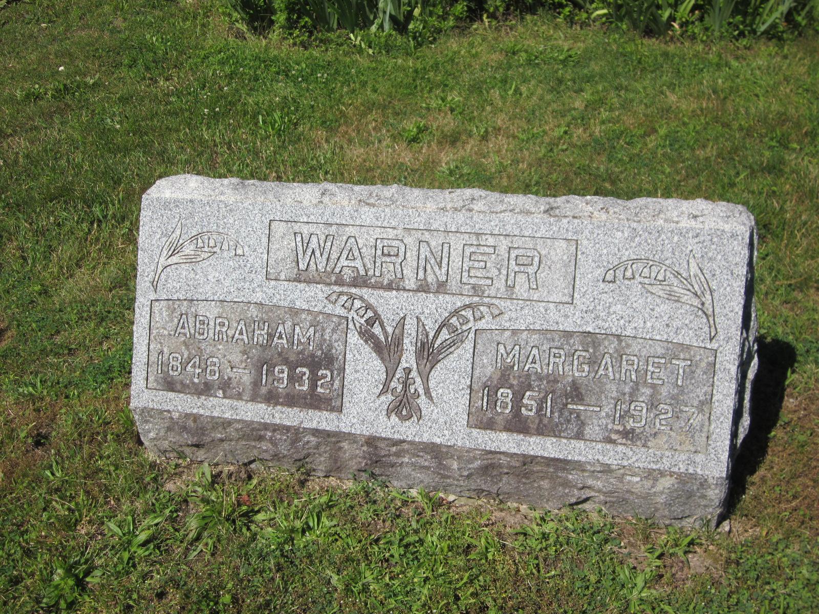 Margaret <i>Lehman</i> Warner