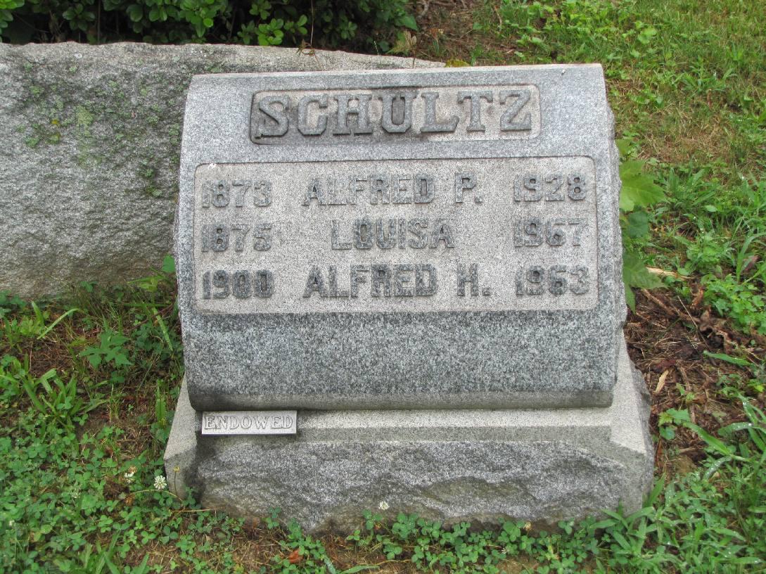 Alfred P Schultz
