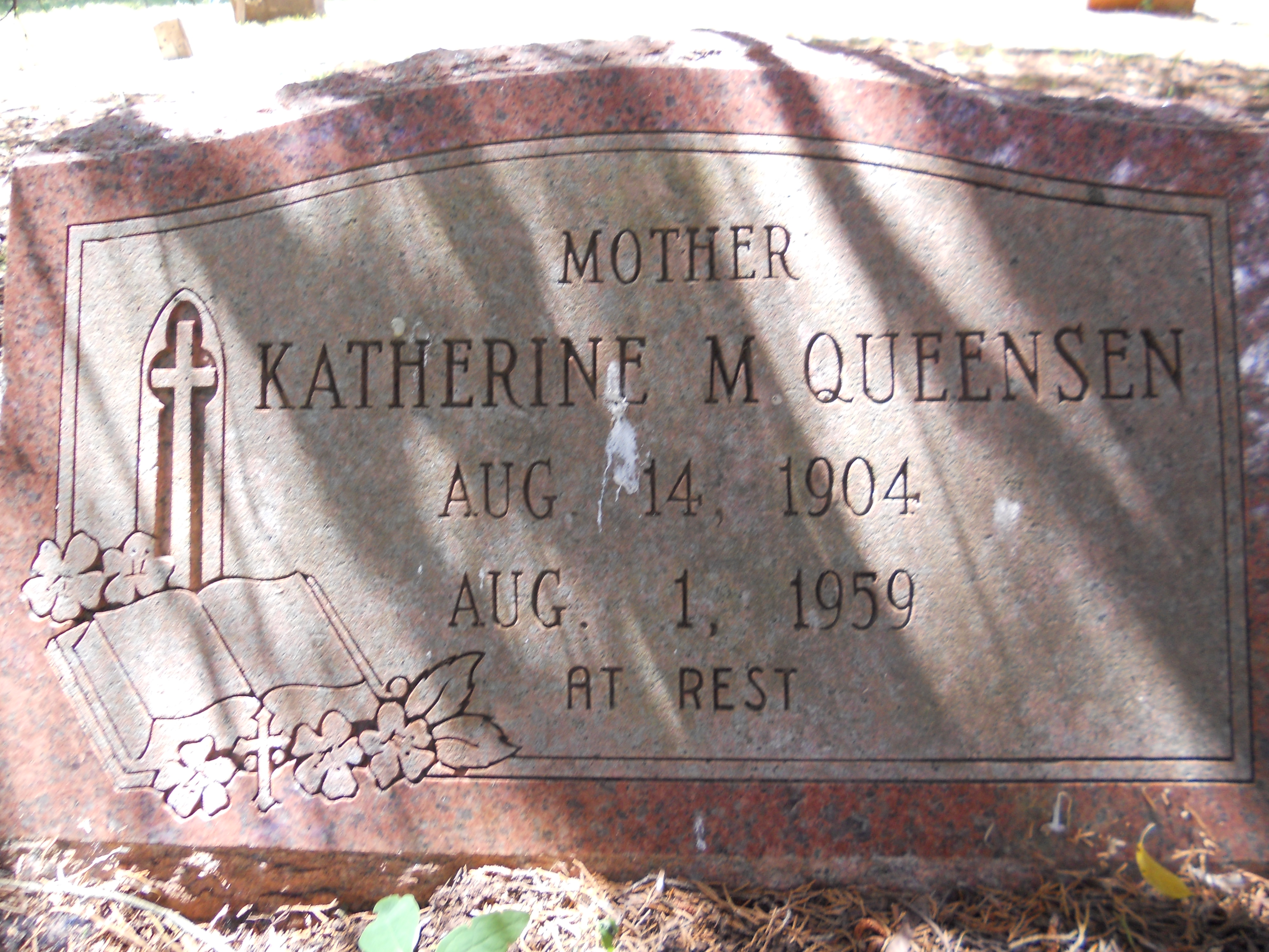 Katherine Mary <i>Russell</i> Queensen