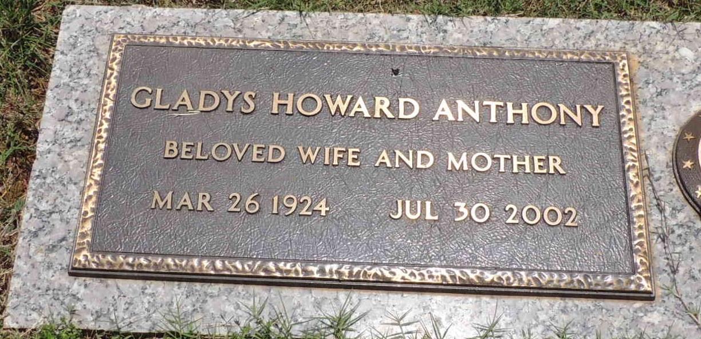 Gladys <i>Howard</i> Anthony
