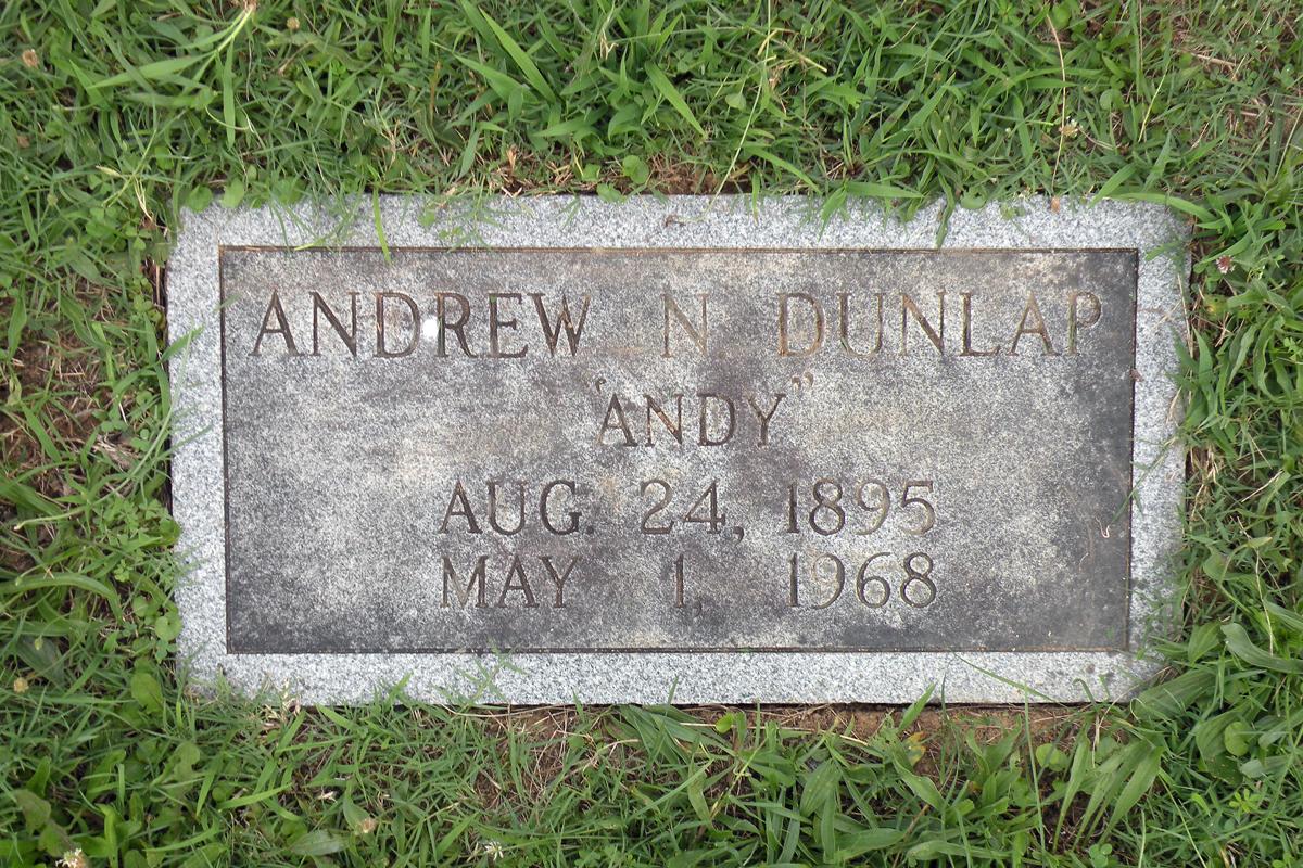 Andrew Newton Andy Dunlap