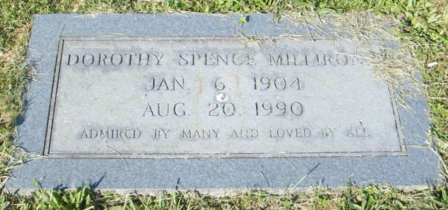Dorothy Osa <i>Spence</i> Millirons