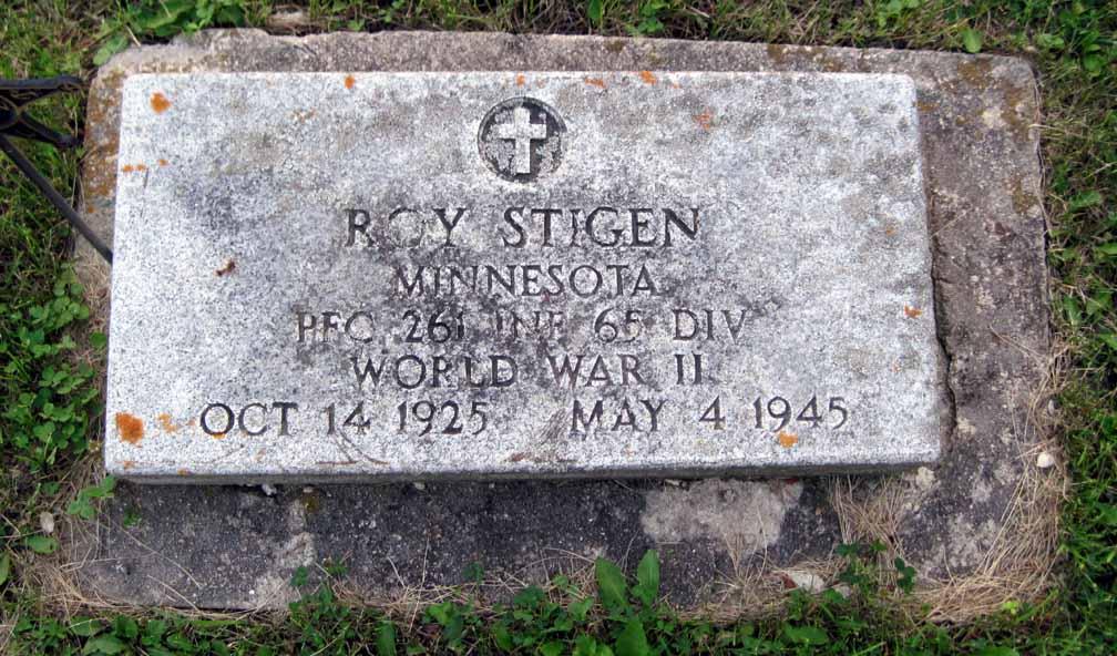 PFC Roy Stigen