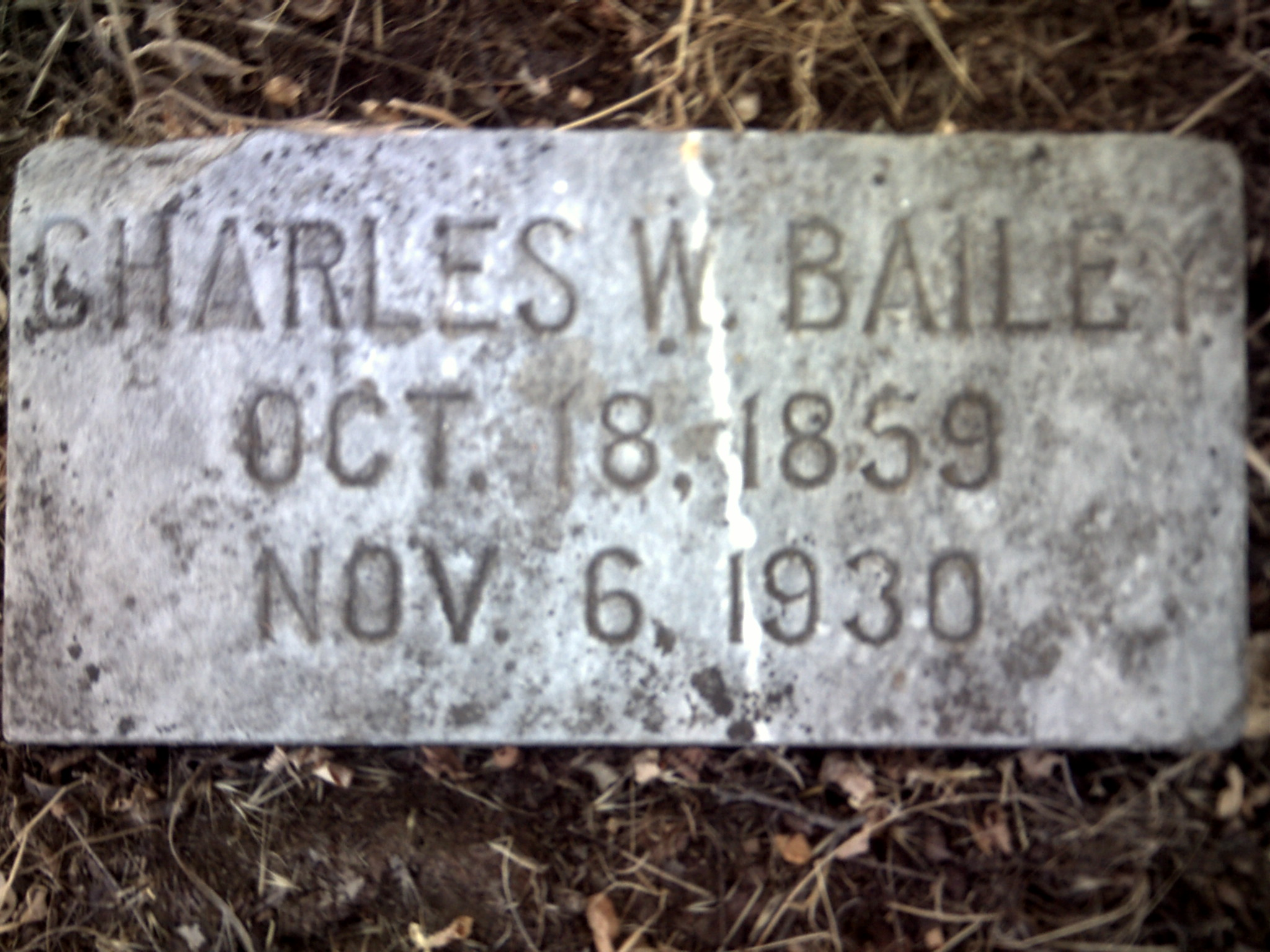 Charles W Bailey