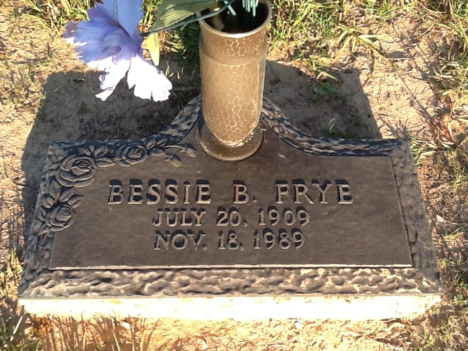 Bessie <i>Batton</i> Frye