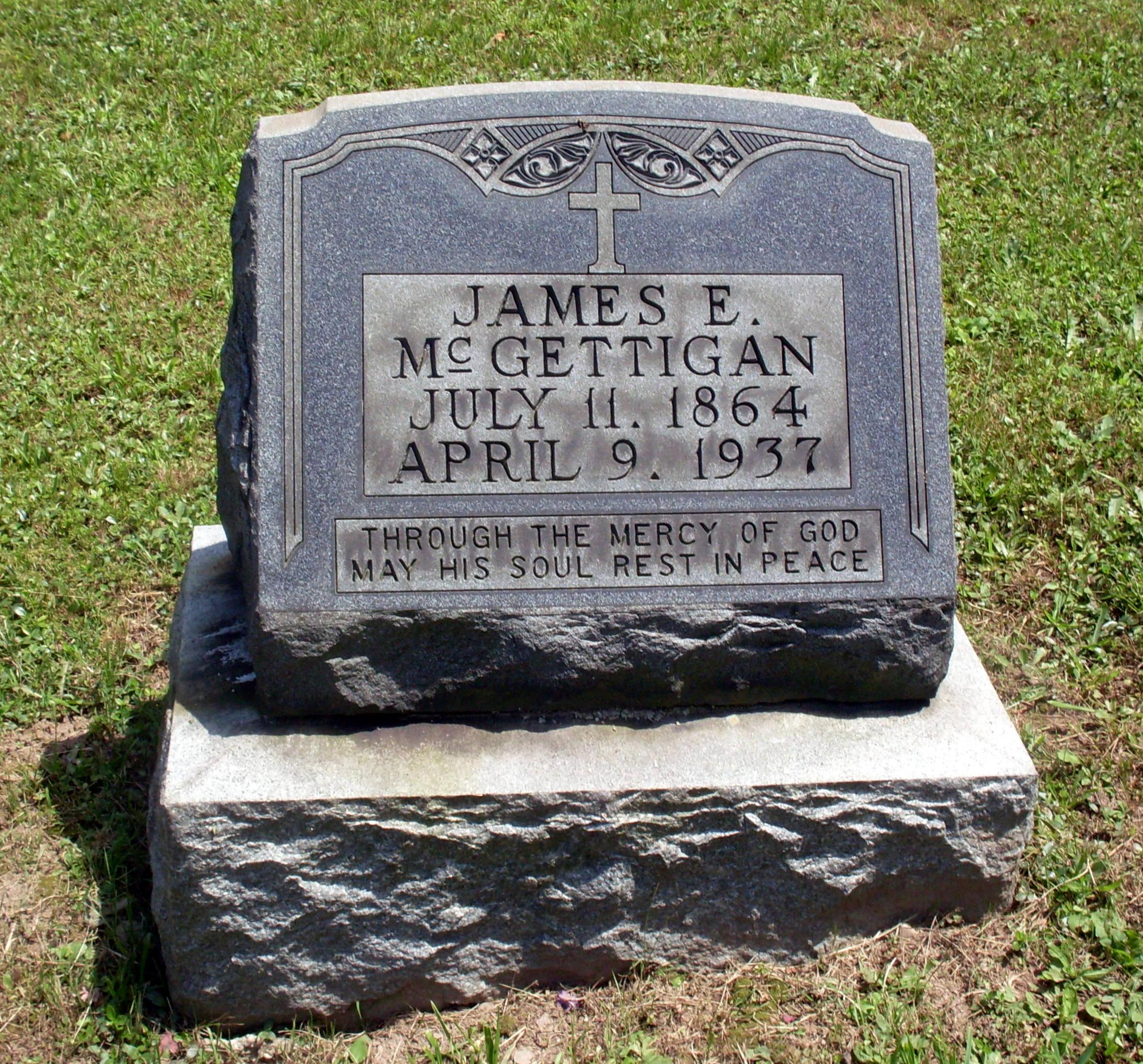 James E McGettigan