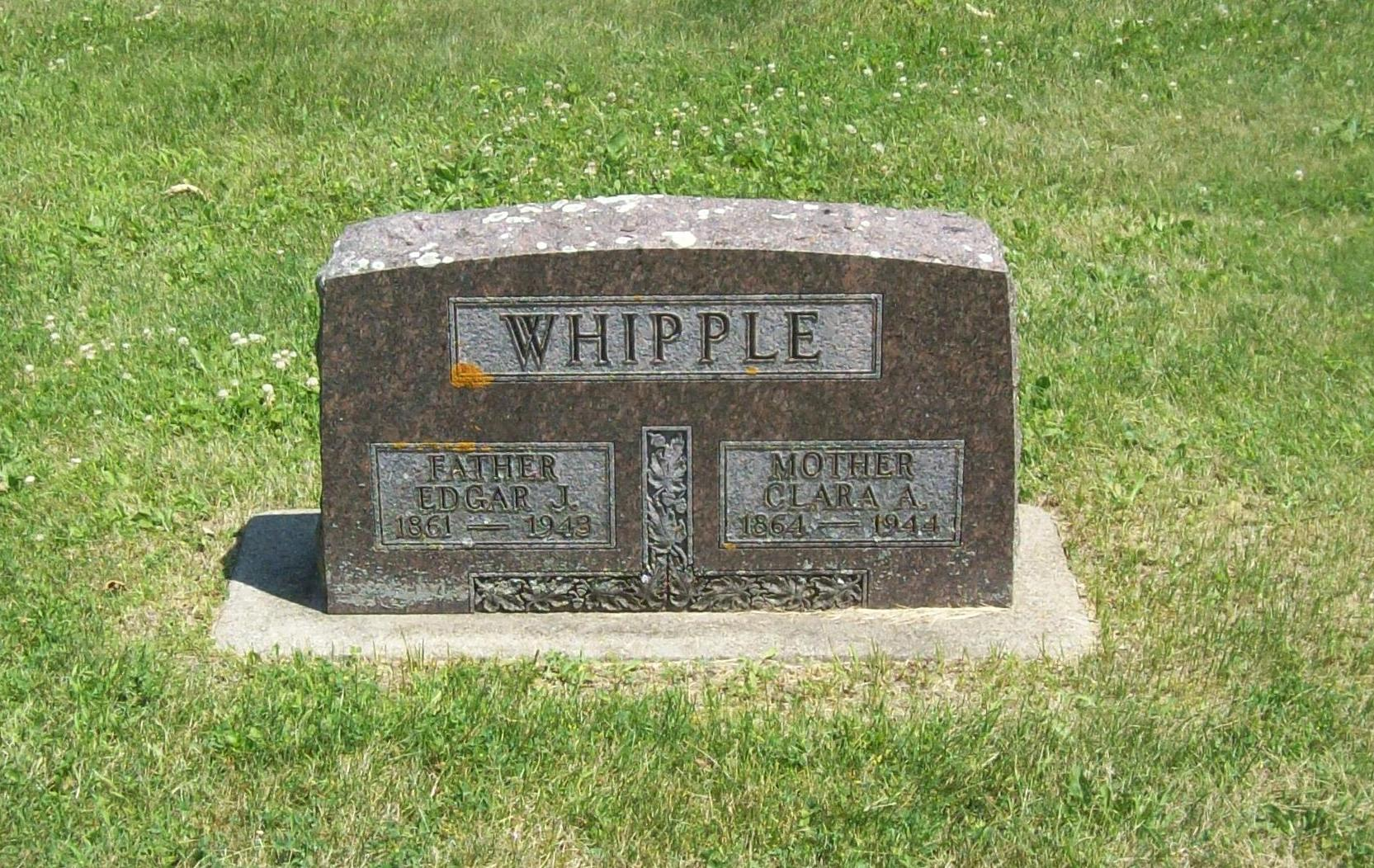 Clara Abigail <i>Coltman</i> Whipple
