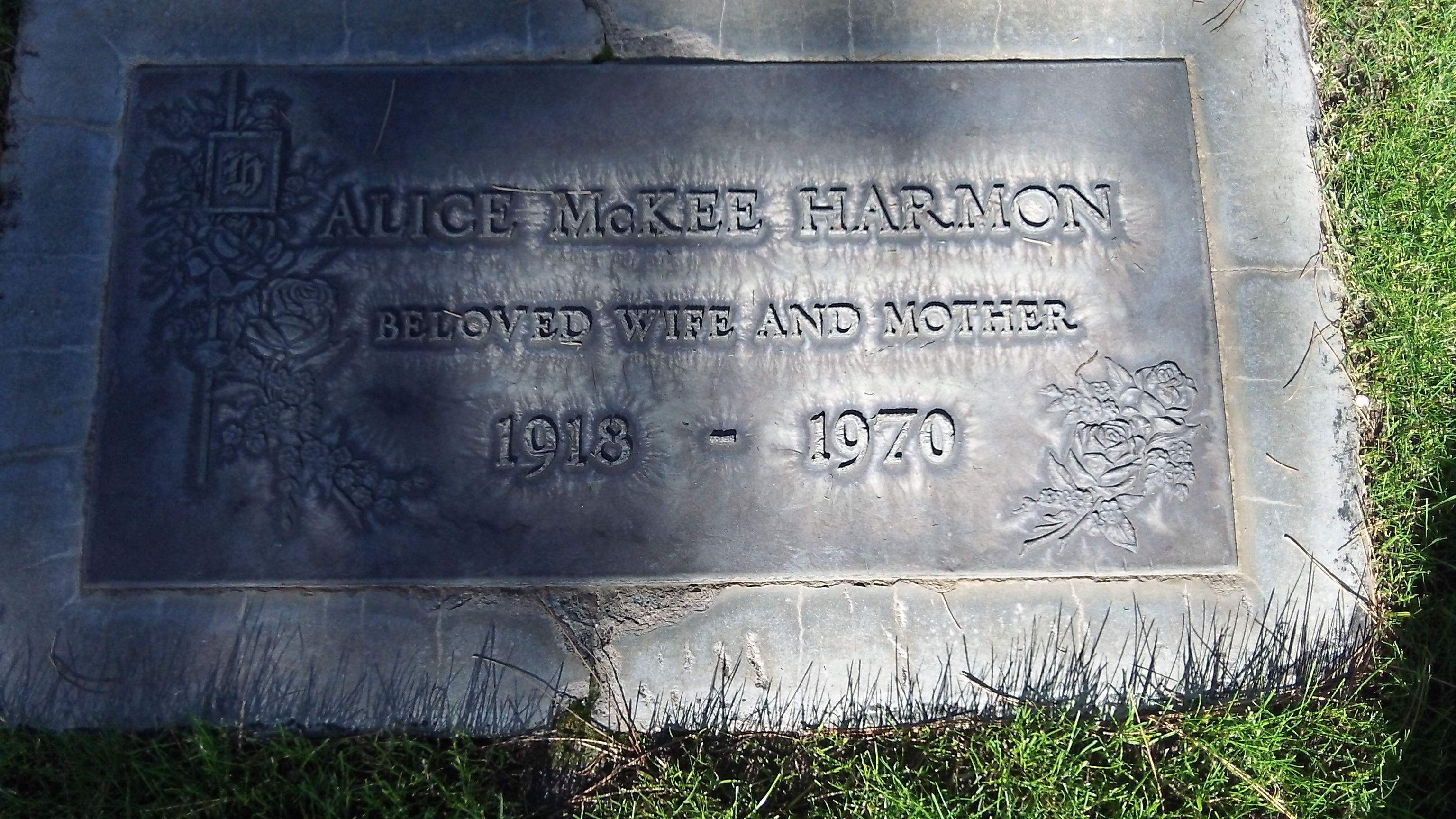 Alice Cullen <i>McKee</i> Harmon
