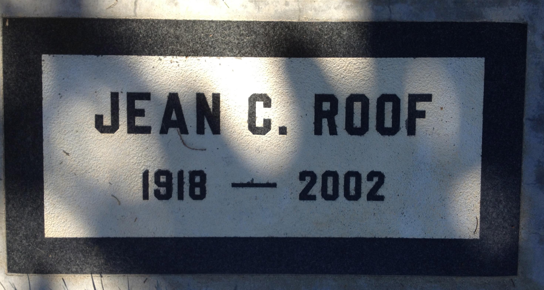 Jean Coler <i>Anglemyer</i> Roof