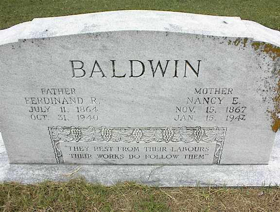 Ferdinand Roswell Fred Baldwin