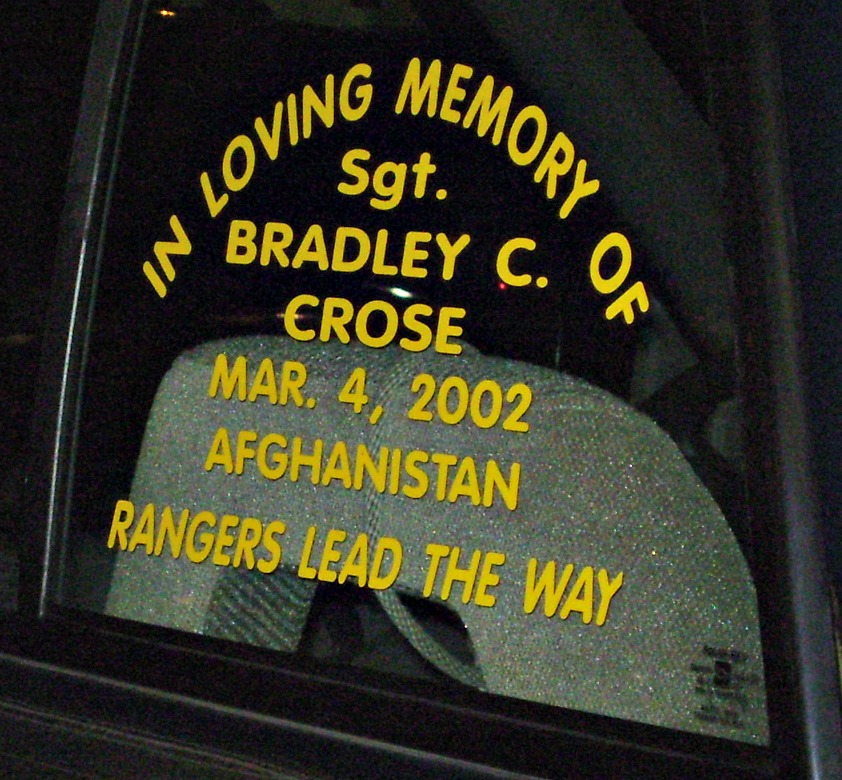 SGT Bradley Stephen Crose