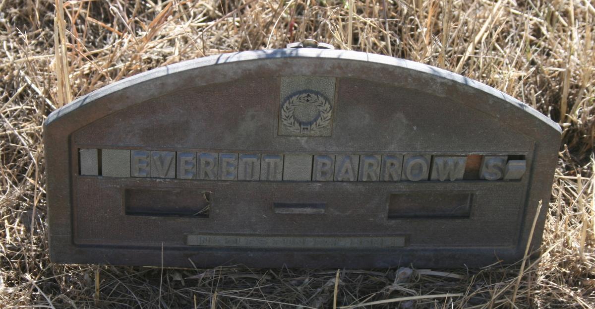 Everett Lance Barrows