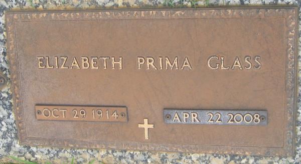 Elizabeth <i>Prima</i> Glass