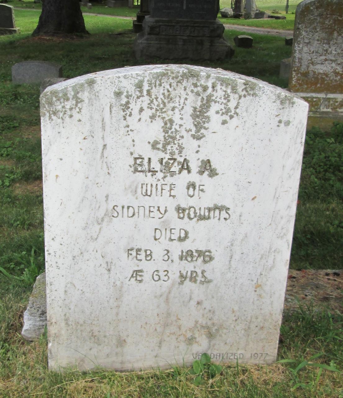 Eliza A Bownes