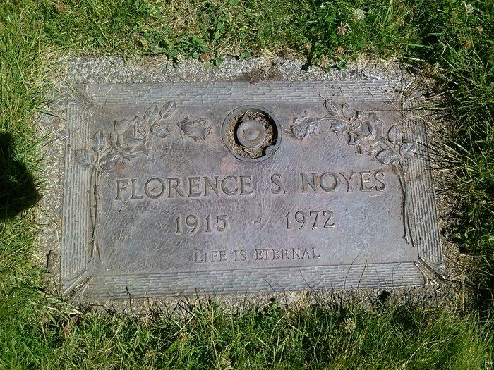 Florence Sarah <i>Shuman</i> Noyes