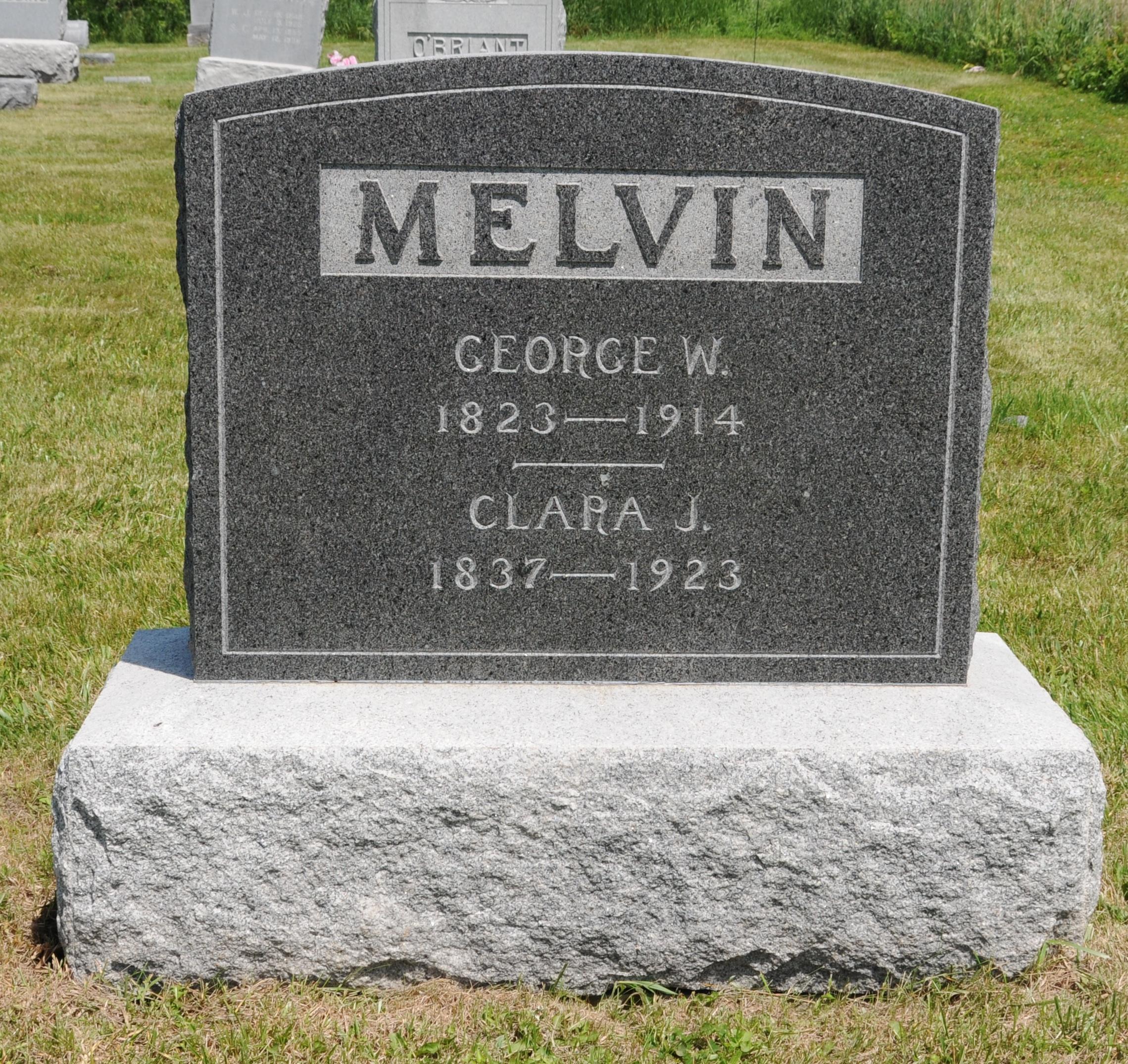 Clara Jane <i>Bailey</i> Melvin