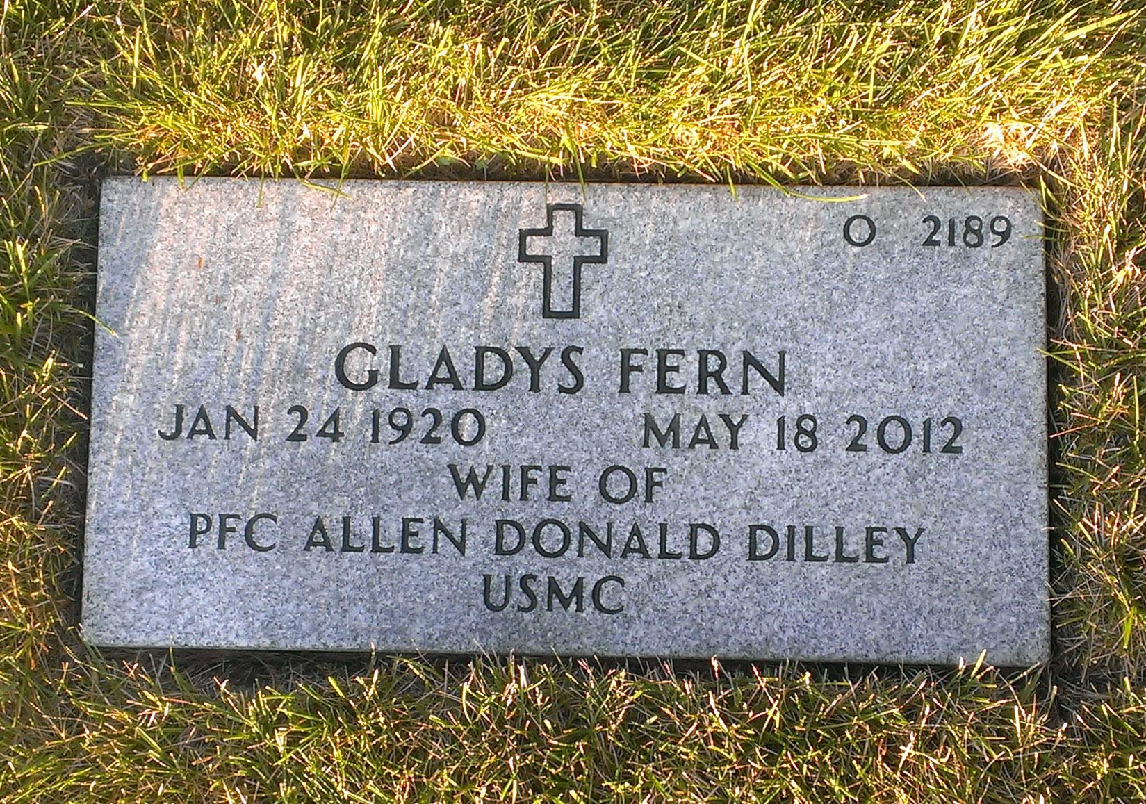 Gladys Fern <i>Deppe</i> Dilley