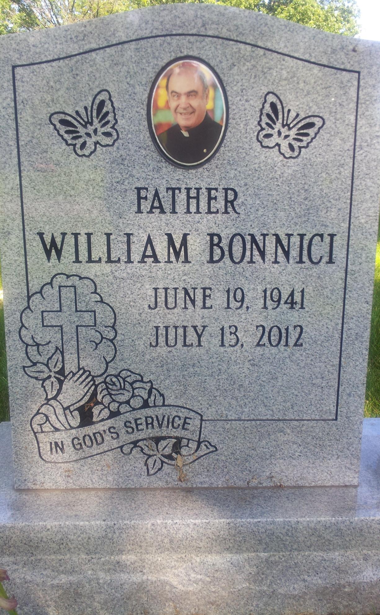 Rev William Charles Bonnici
