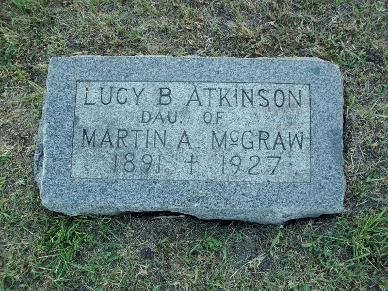 Lucy B <i>McGraw</i> Atkinson