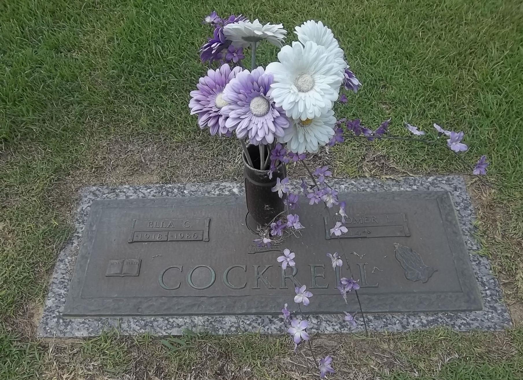 Ella Lee Carpenter Cockrell 1918 1986 Find A Grave Memorial