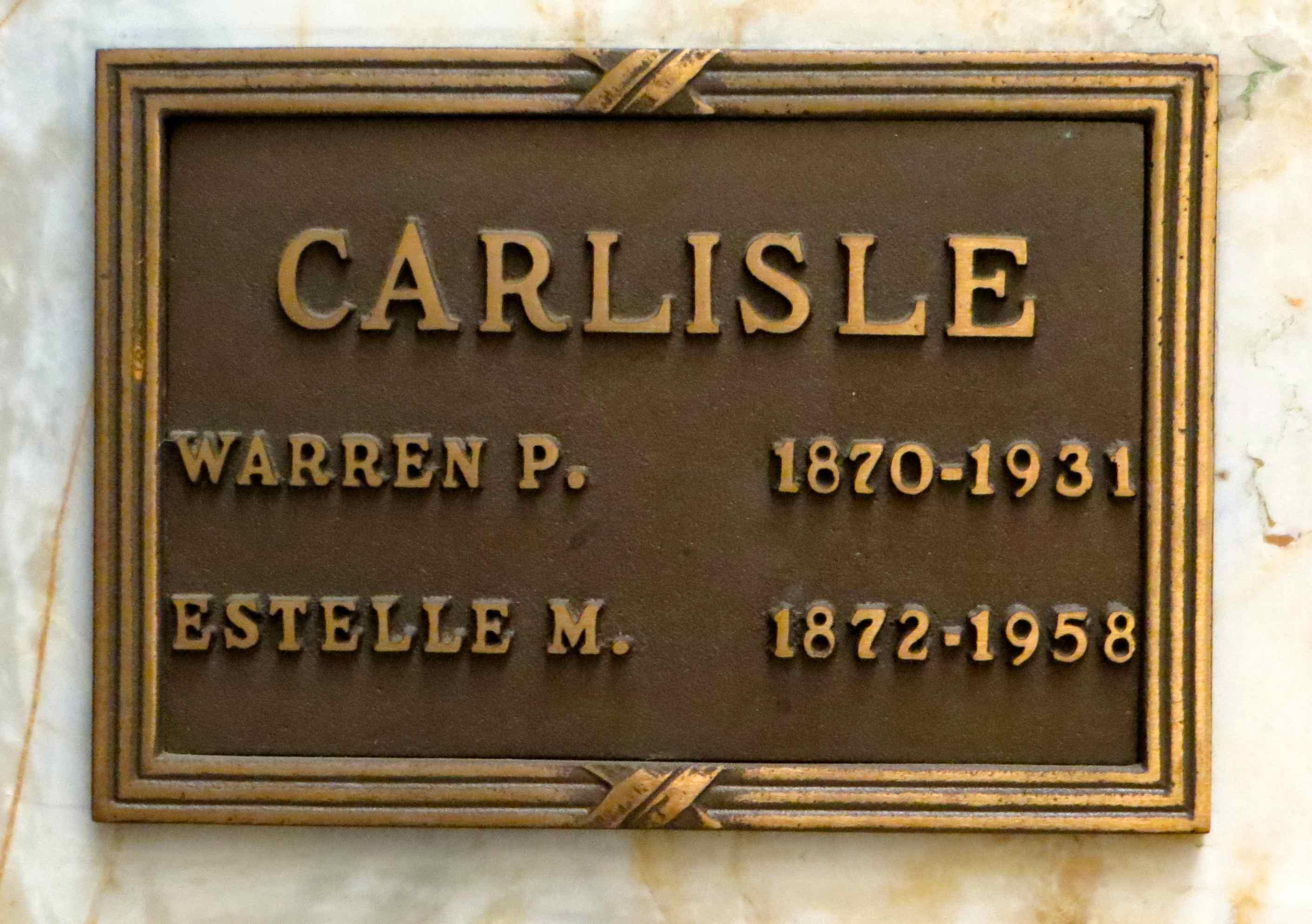 Estelle <i>Meyer</i> Carlisle
