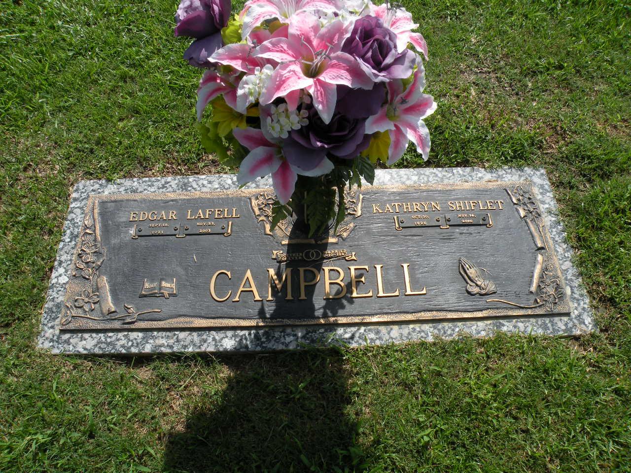 Kathryn <i>Shiflet</i> Campbell