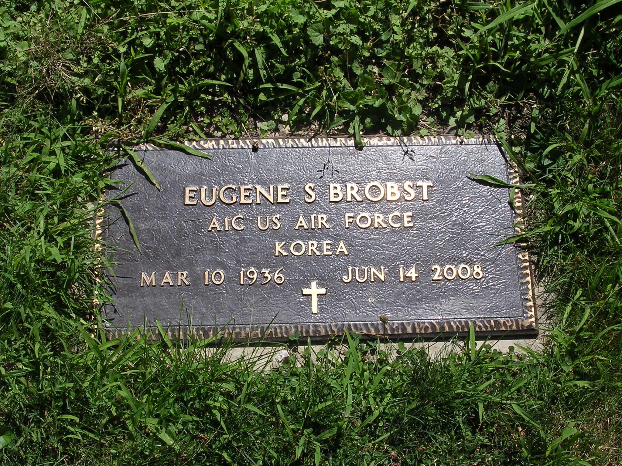 Eugene S Gene Brobst