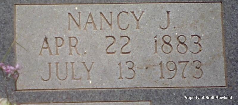 Nancy Jane <i>Martin</i> Grubaugh