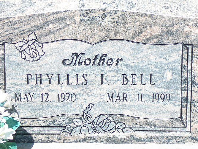 Phyllis <i>Ishmael</i> Bell