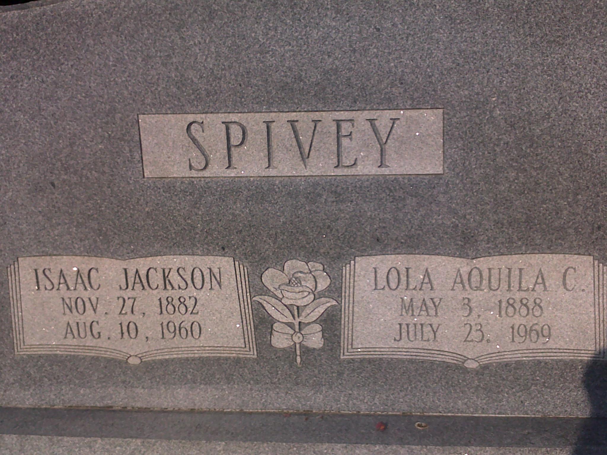 Isaac Jackson Spivey, Jr