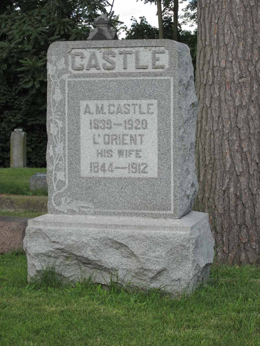 Laurient A. L'Orient <i>Gleason</i> Castle