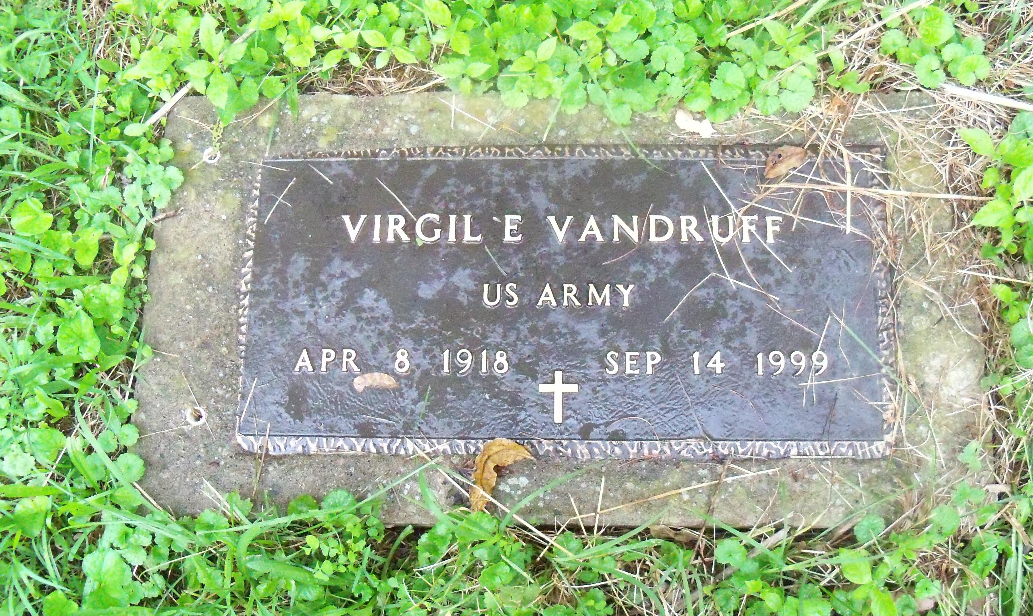 Virgil E. Vandruff