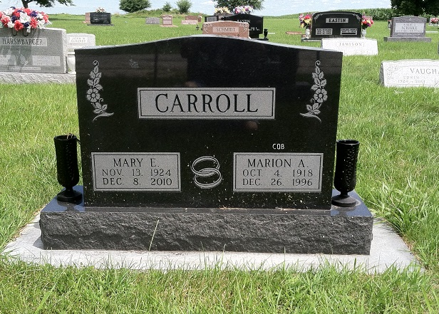 Mary Ellen <i>Warner</i> Carroll