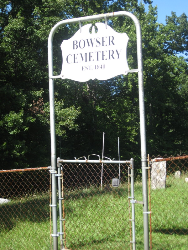 Bowser Cemetery
