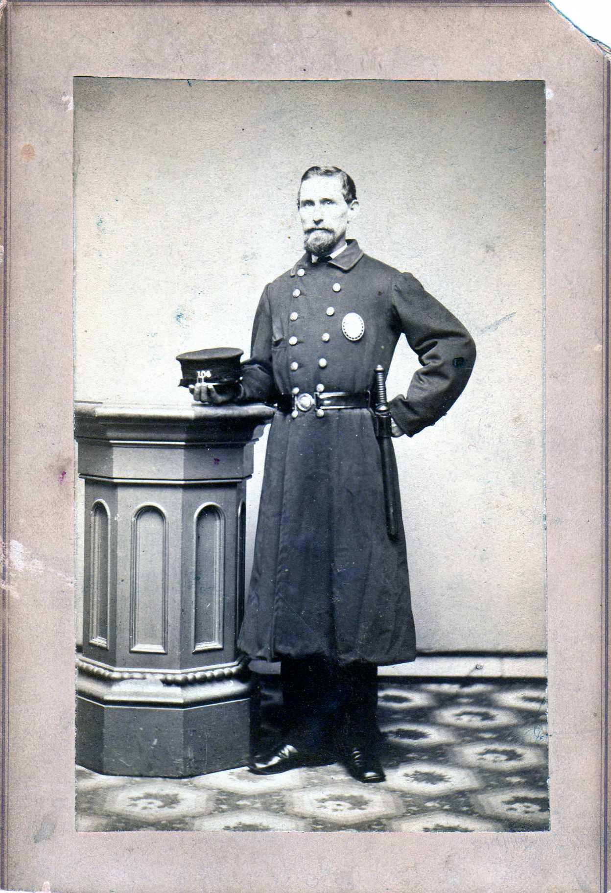 Sgt J Frederick Fred Sinskey