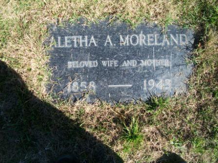 Aletha Antoinett <i>Grice</i> Moreland
