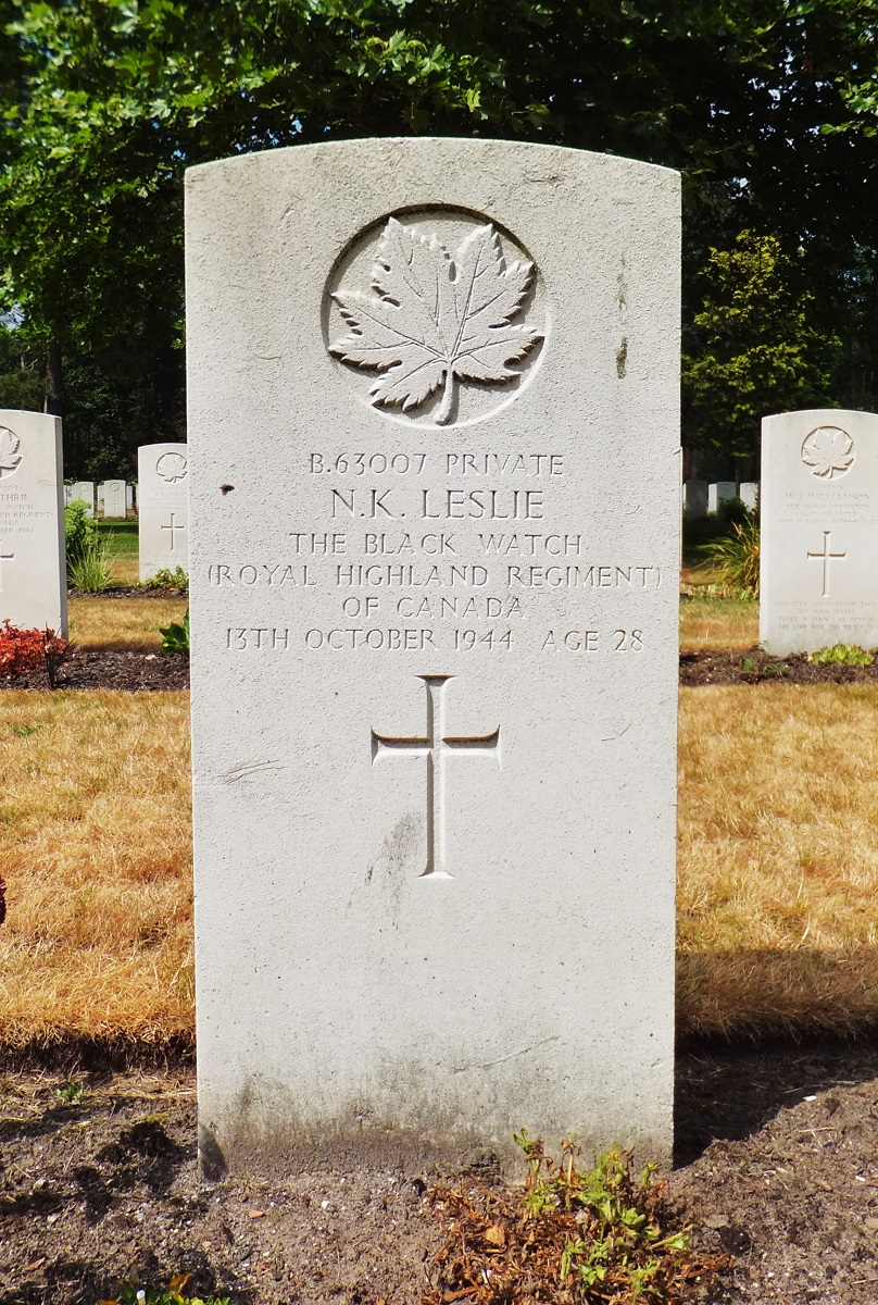 Private Norwood Kitchener Leslie (Unknown-1944) - Find A Grave Memorial