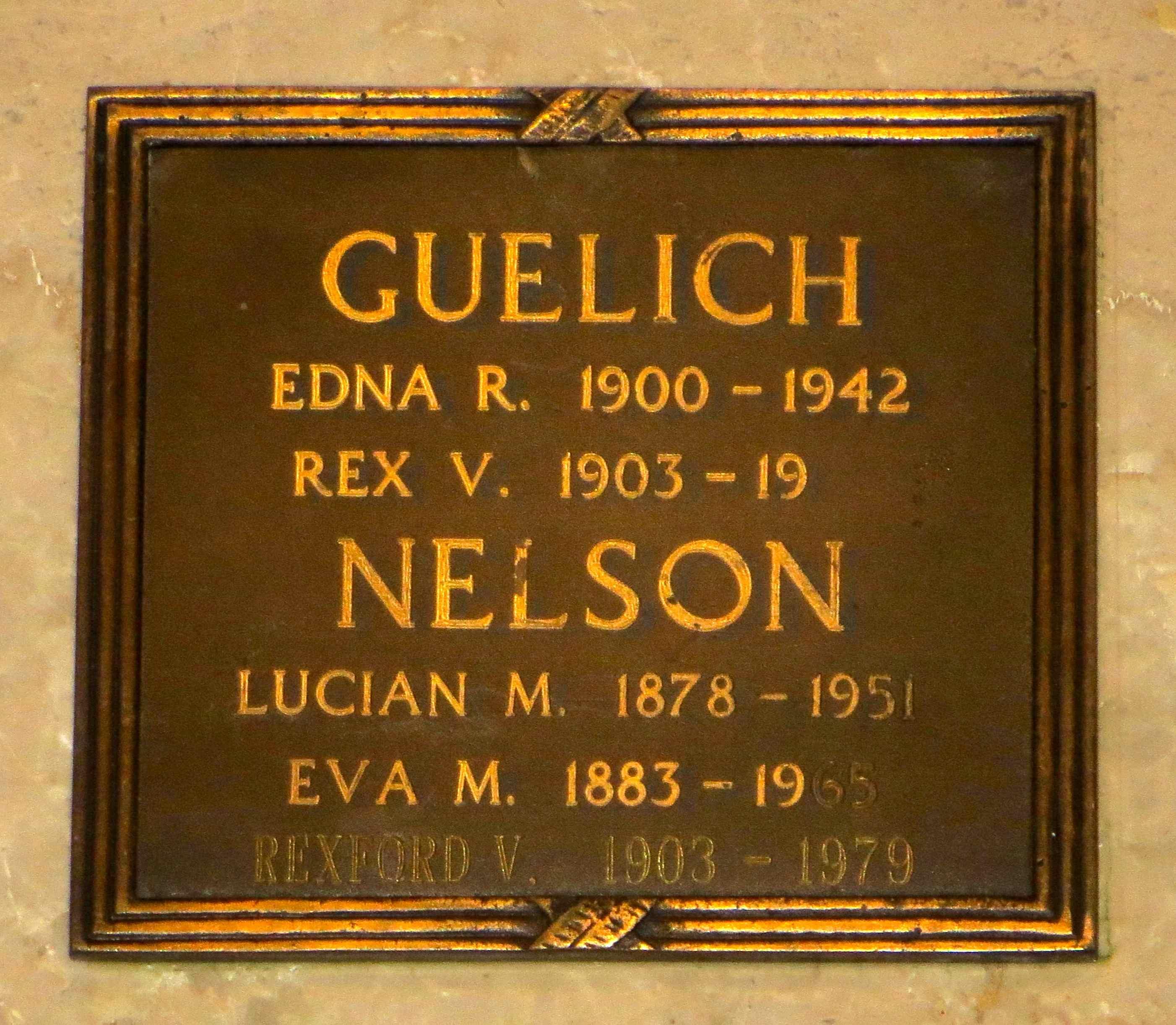Edna Ruth <i>Walter</i> Guelich