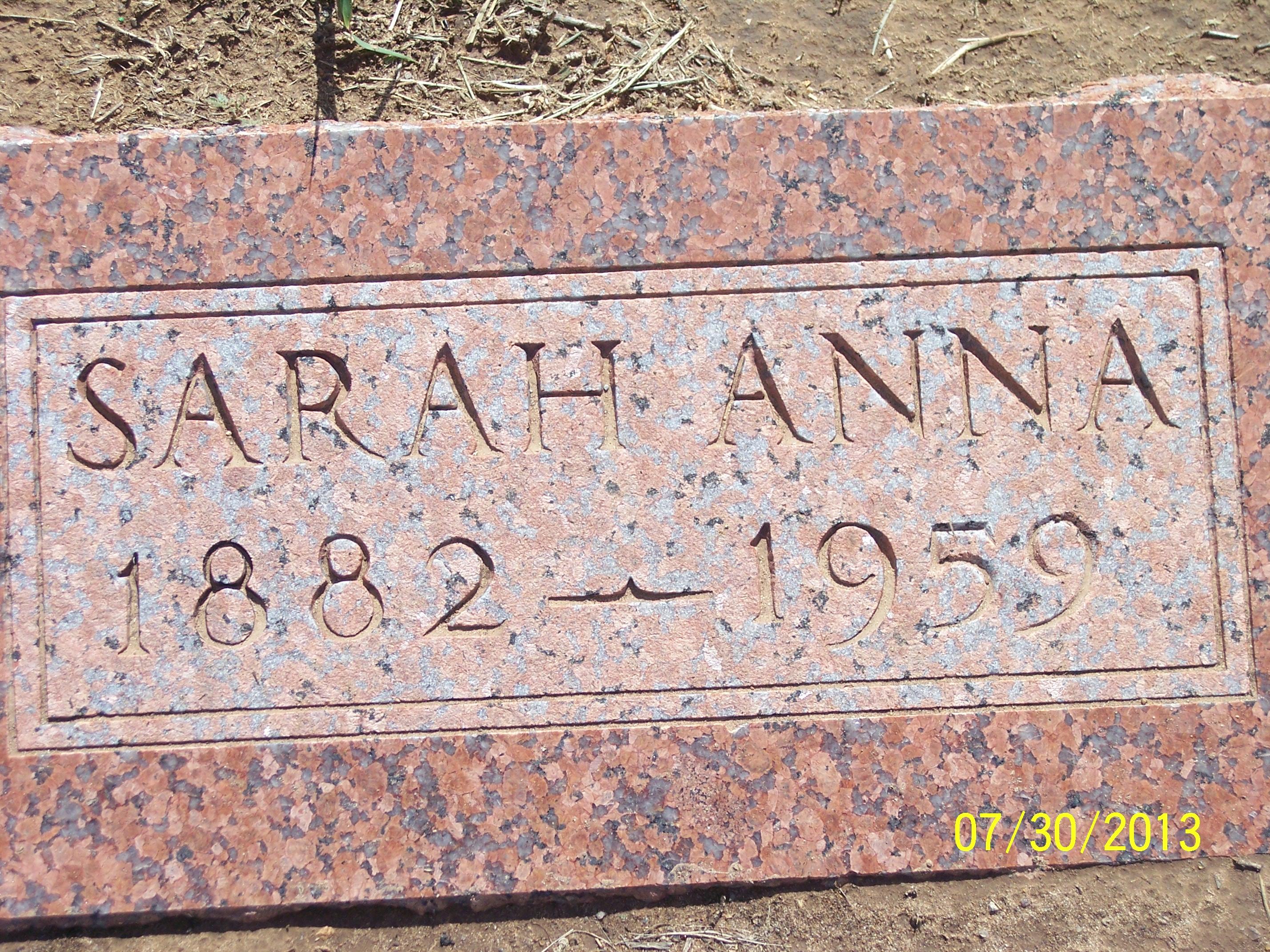 Sarah Anna Annie <i>Lilley</i> Eakins