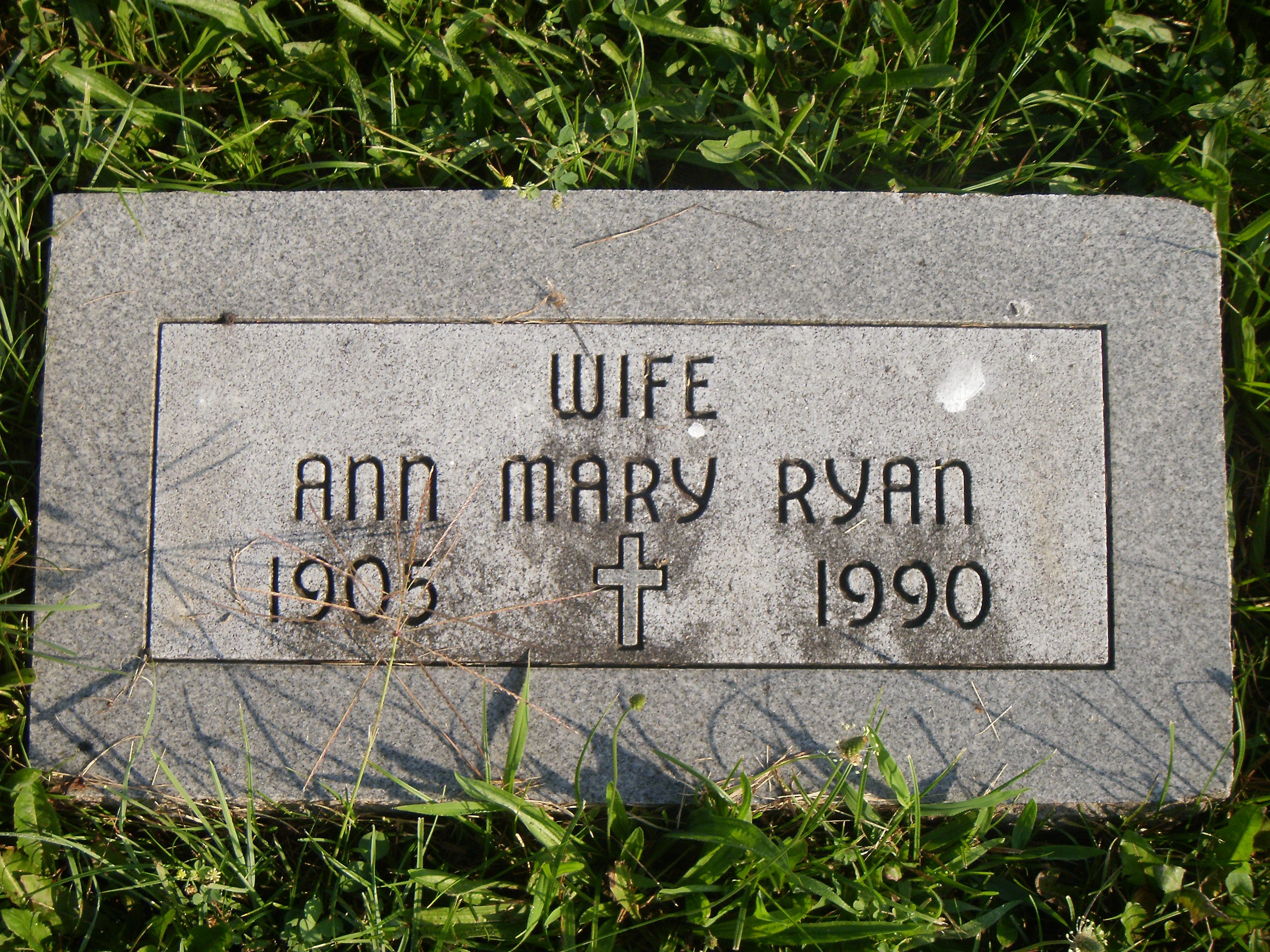 Ann Mary Ryan