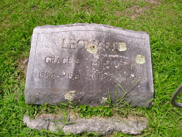 Grace Angie <i>Stowell</i> Leonard