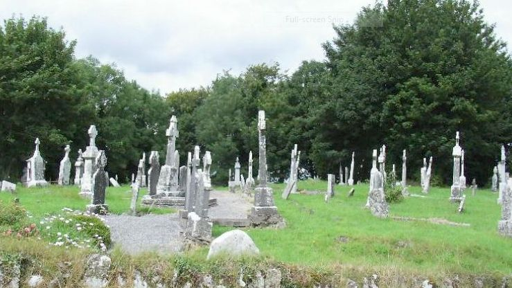 Kilbegnet Old Graveyard and CBG in Athleague, County Roscommon ... on
