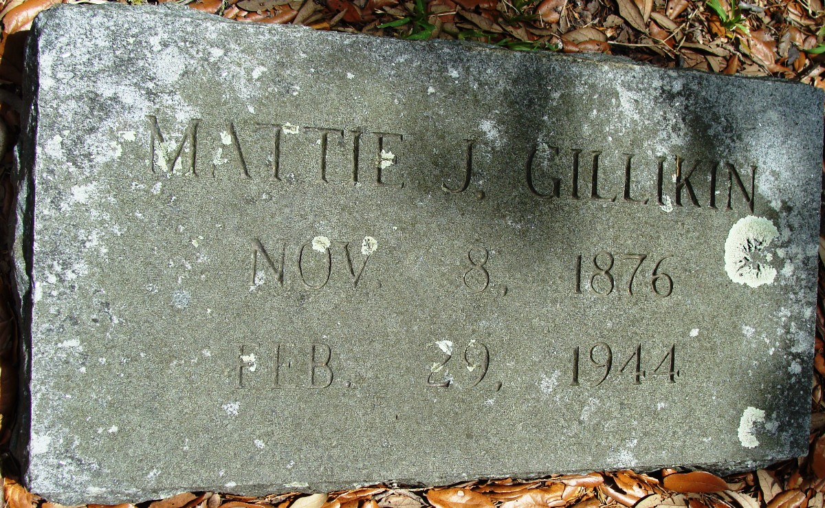 Mattie J Gillikin